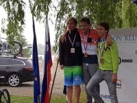 In državna prvaka v supersprint triatlonu sta?